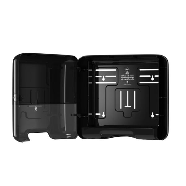 Vorschau: Tork Mini Handtuchspender für H3 Zickzack & Lagenfalz Papierhandt online kaufen - Verwendung 3