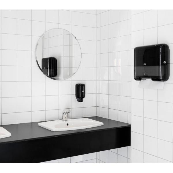 Vorschau: Tork Mini Handtuchspender für H3 Zickzack & Lagenfalz Papierhandt online kaufen - Verwendung 6