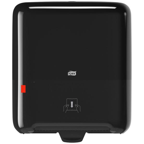 Tork Matic® Spender für Rollenhandtücher Schwarz H1, Einzelblatte