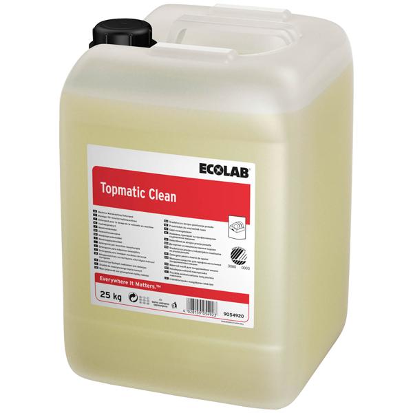 Topmatic Clean 25kg - Maschinenspülmittel online kaufen - Verwendung 1