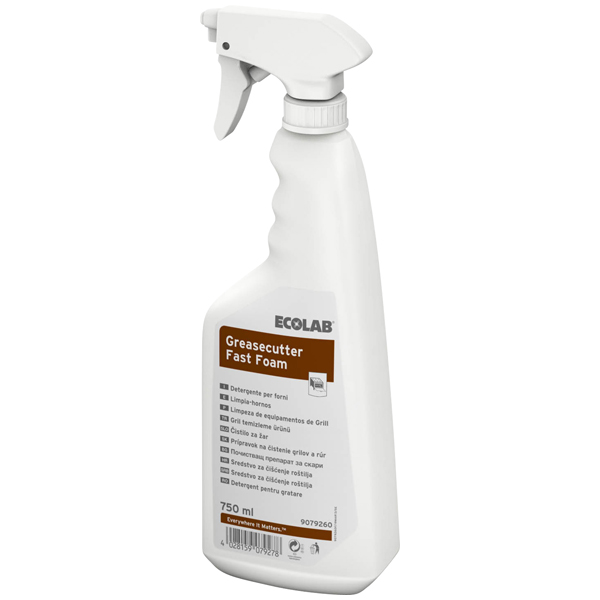 ECOLAB Greasecutter Fast Foam Grillreiniger 750 ml