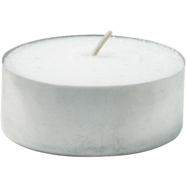 Duni Rechaud Kerze/Teelicht d = 3,69 cm weiß - 8h