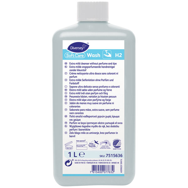 Soft Care Wash H2 Seifenlotion 1 Liter