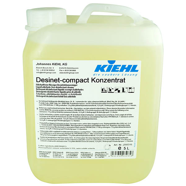 Kiehl Desinet-compact Desinfektionsreiniger