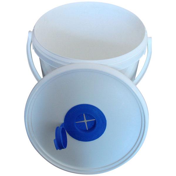 Spendereimer für Desinfektionstücher ( unbefüllt )