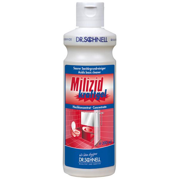 Dr.Schnell Milizid Kraftgel Sanitär-Grundreiniger 200 ml