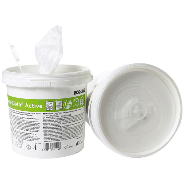 ECOLAB Sani-Cloth® Active Desinfektionstücher 225 Stück