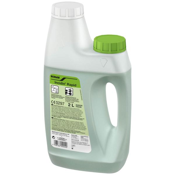 ECOLAB Incidin™ Rapid Flächendesinfektion 2 Liter