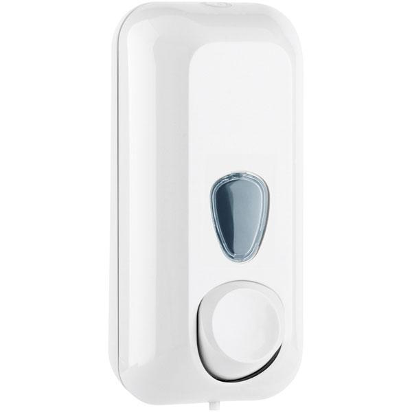 Seifenspender Clivia 55 plus weiß mit Sichtfenster
