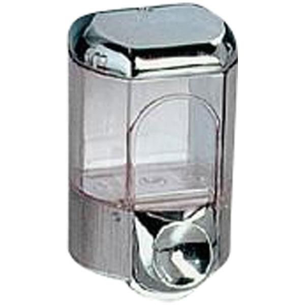 Seifenspender Clivia 35  verchromt / transparent