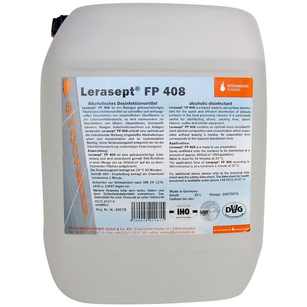 Lerasept® FP408 Flächendesinfektionsmittel 10 Liter