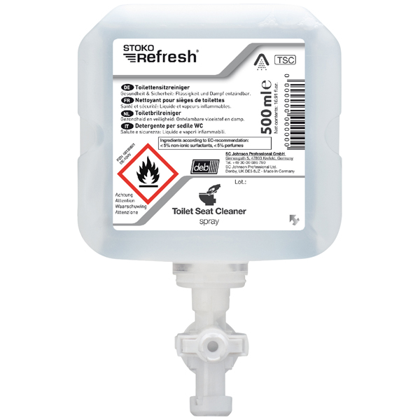 STOKO® Refresh Toilet Seat Cleaner-Spray 6 x 500 ml