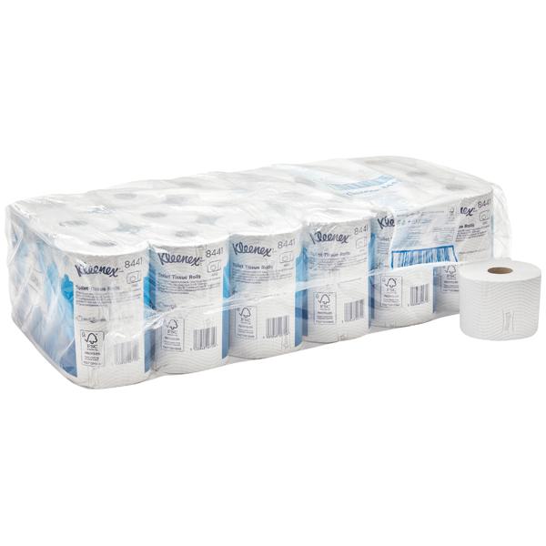 KLEENEX® Toilettenpapier Standard-Rolle weiß 8441