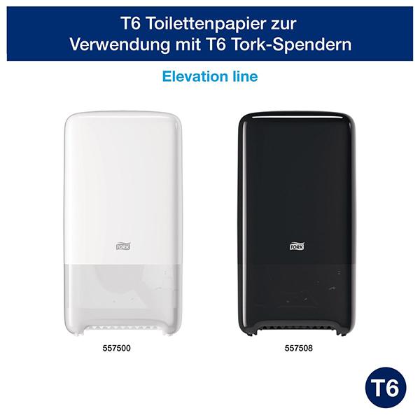 Vorschau: Tork Extra weiches Midi Toilettenpapier online kaufen - Verwendung 1