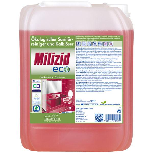 Dr.Schnell Milizid ECO Sanitärreiniger-/Kalklöser 10 Liter