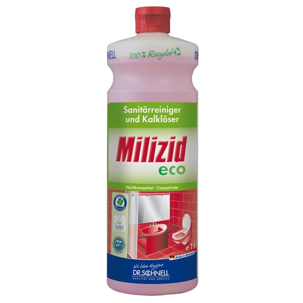 Dr.Schnell Milizid ECO Sanitärreiniger-/Kalklöser 1 Liter