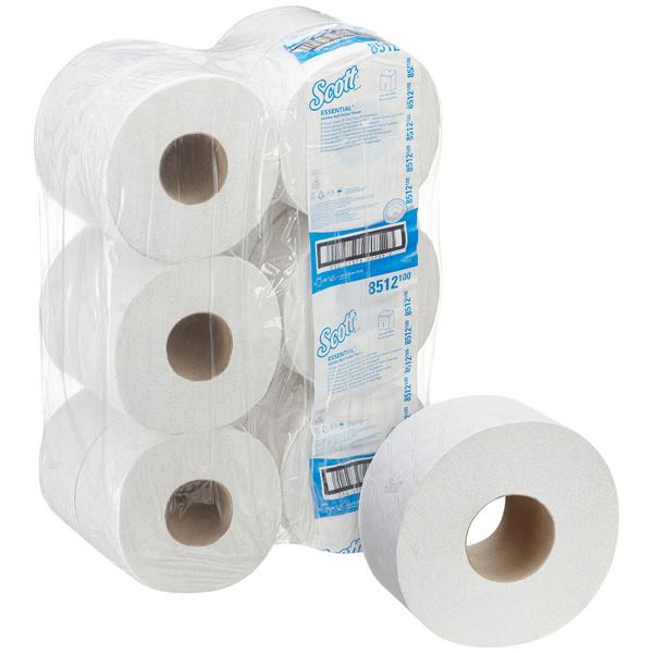 Scott® Essential™ Jumbo Toilettenpapierrolle weiß 8512