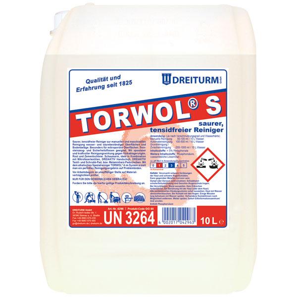 Dreiturm Torwol®S Sanitärreiniger 10 Liter