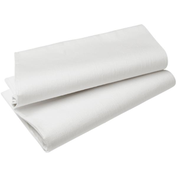 Duni Tischdecke Evolin 127 x 180 cm weiß