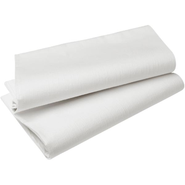 Duni Tischdecke Evolin 127 x 220 cm weiß