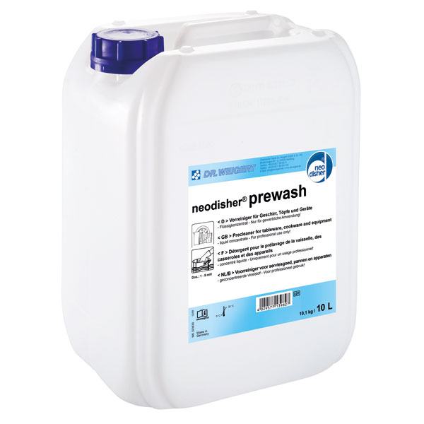 Dr.Weigert neodisher® prewash 10 Liter online kaufen - Verwendung 1