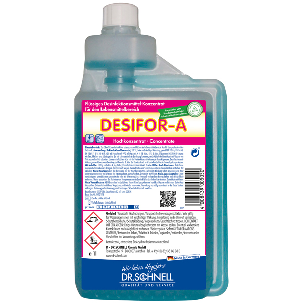 Dr.Schnell Desifor-A Desinfektionsmittel 1 Liter