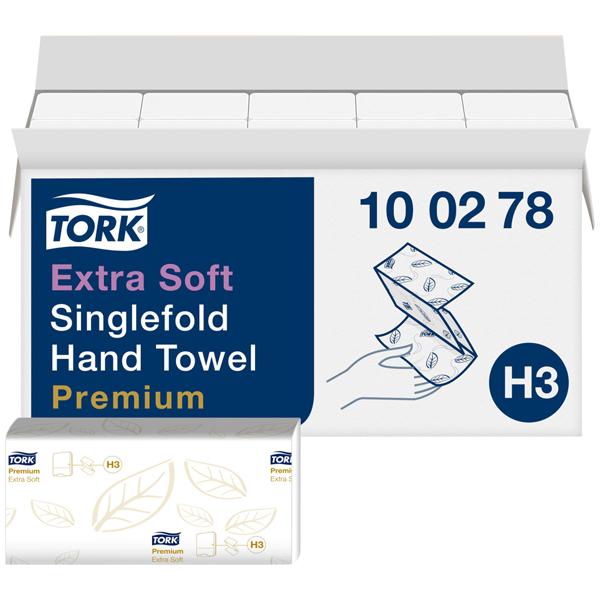 Tork Premium extra weiches ZZ Handtuch