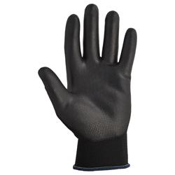 KleenGuard® G40 Polyurethanbeschichtete Handschuhe schwarz 13840