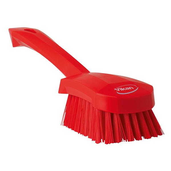 Vikan Handbürste hart 27 cm rot online kaufen - Verwendung 1