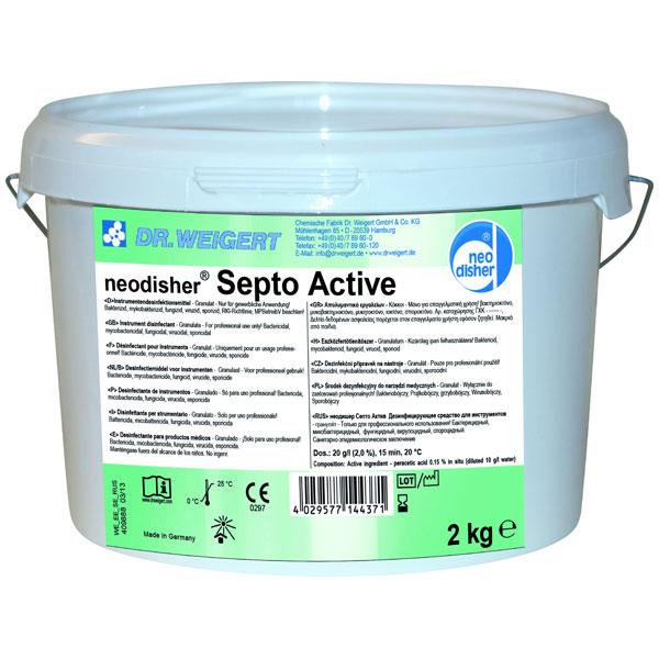 Dr.Weigert neodisher® Septo Active Desinfektionsmittel 2 kg online kaufen - Verwendung 1