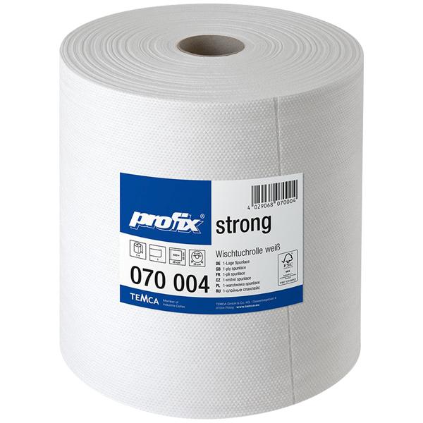 Profix strong Wischtuchrolle weiß - 40 x 38 cm