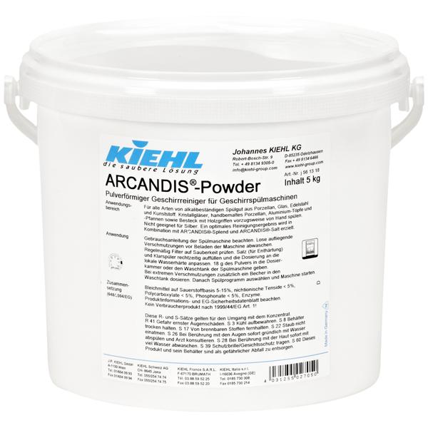 Kiehl Acrandis®-Powder Geschirreiniger 5 kg