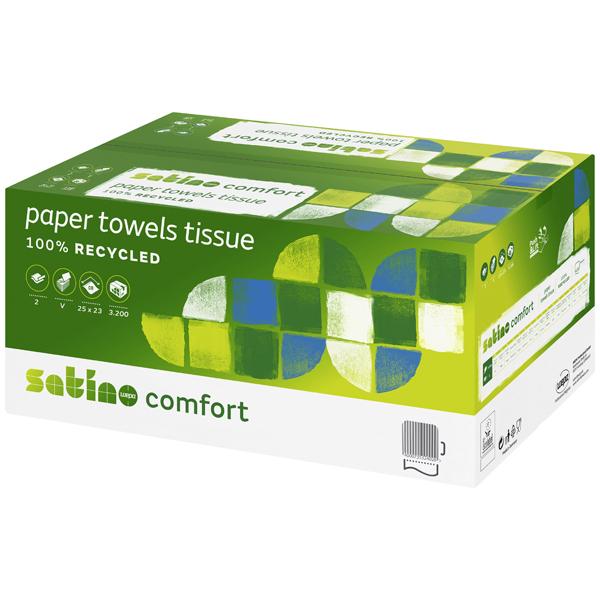 Wepa Satino Comfort Falthandtuchpapier - V-Falzung