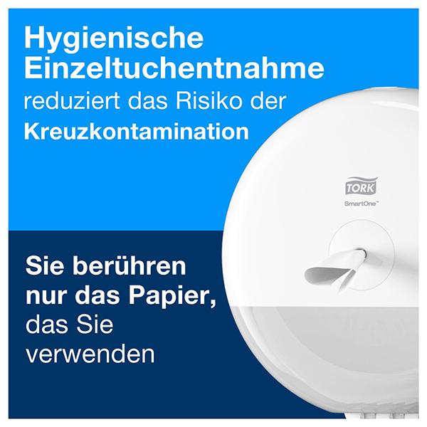 Vorschau: Tork SmartOne® Mini Toilettenpapier online kaufen - Verwendung 4