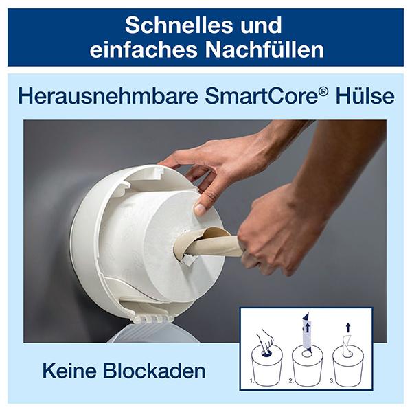 Vorschau: Tork SmartOne® Mini Toilettenpapier online kaufen - Verwendung 6