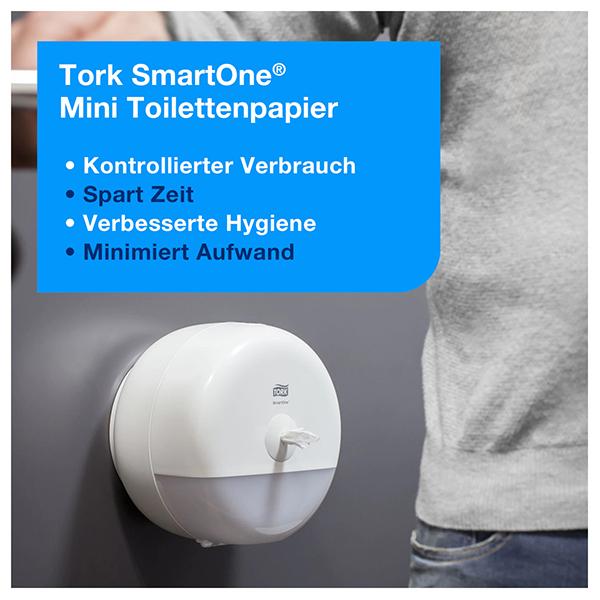 Vorschau: Tork SmartOne® Mini Toilettenpapier online kaufen - Verwendung 9