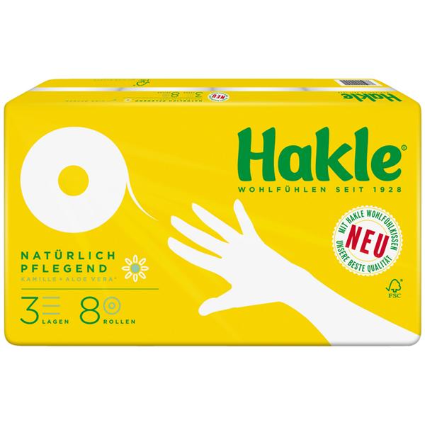 Hakle Toilettenpapier mit Kamille & Aloe Vera