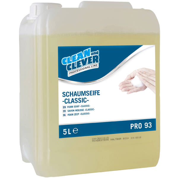 CLEAN and CLEVER PROFESSIONAL Schaumseife classic PRO 93