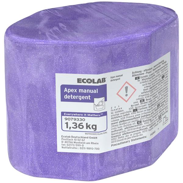 ECOLAB Apex™ Manual Detergent Handspülmittel 2 x 1,36 kg online kaufen - Verwendung 1
