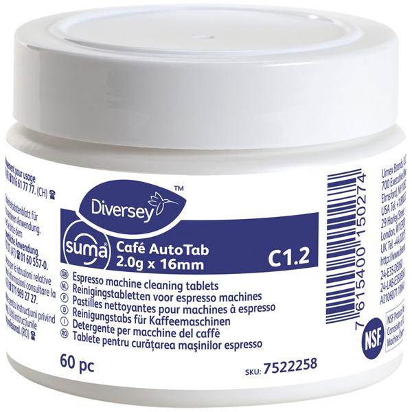 Suma® Café AutoTab C1.2 Kaffeemaschinenreiniger 2.0 g x 16 mm