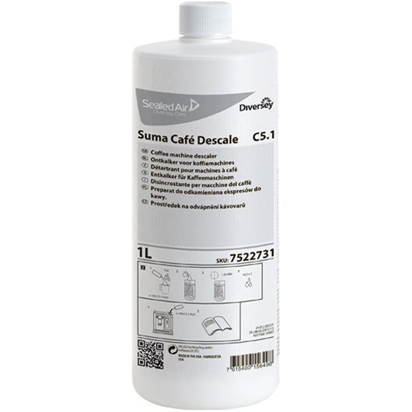Suma Café Descale C5.1 Kaffeemaschinen-Entkalker 1 Liter