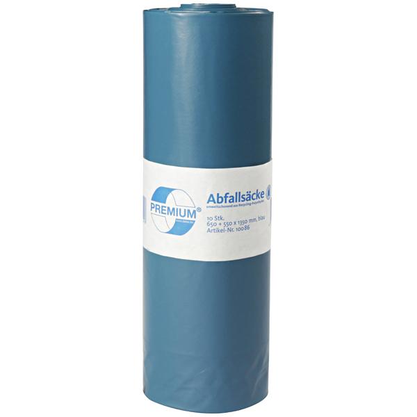DEISS Premium® Abfallsäcke blau 240 Liter ( 10 Stück )