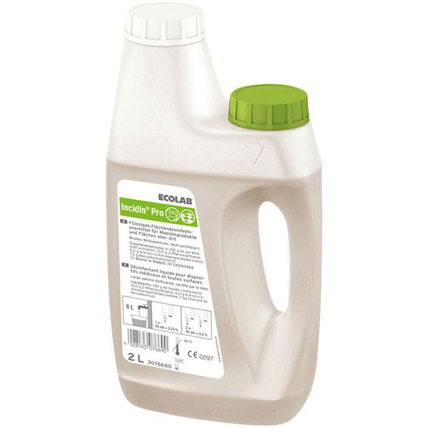 ECOLAB Incidin® Pro Flächendesinfektion 2 Liter online kaufen - Verwendung 1