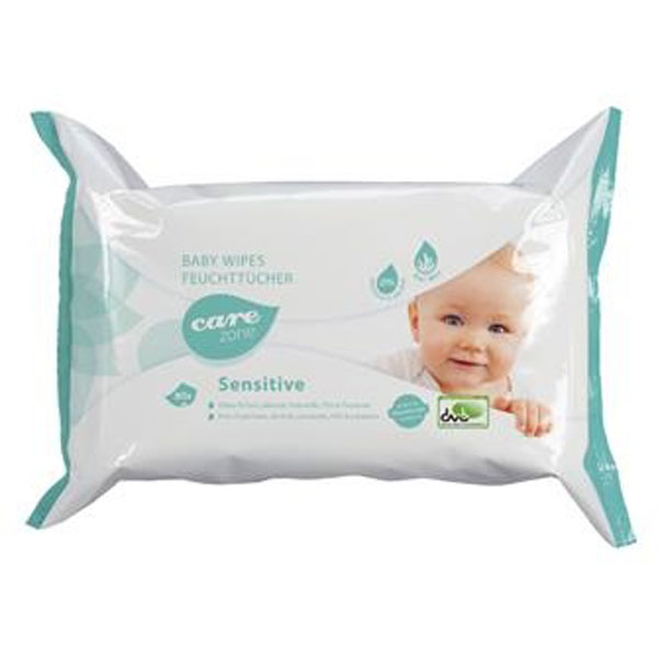 Babywipes Sensitive Care Zone