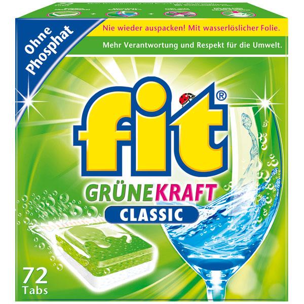 Fit Grüne Kraft Classic Tabs 72 XL