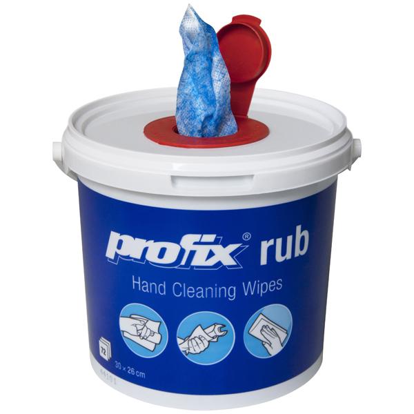 Profix® rub Hand-Reinigungstücher