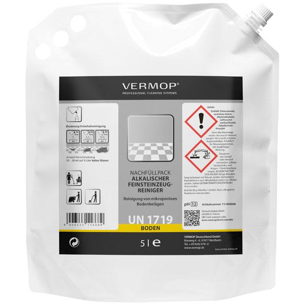 Vermop Vermo Fine Feinsteinzeug-Reiniger 2 x 5 Liter