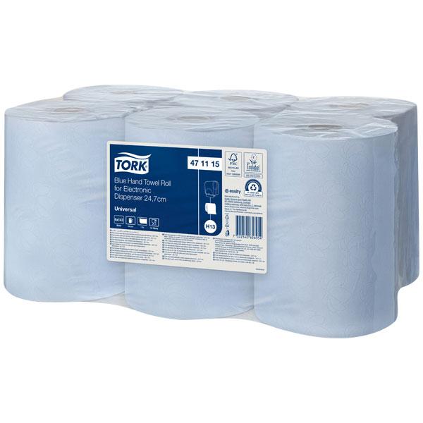 Tork Rollenhandtuch für Sensor-Systeme 471115, H12 und H13, Unive