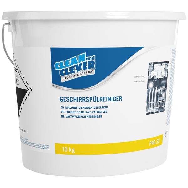 CLEAN and CLEVER PROFESSIONAL Geschirrspülreiniger PRO 33