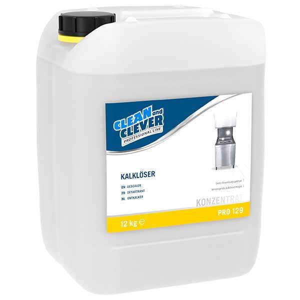 CLEAN and CLEVER PROFESSIONAL Kalklöser flüssig PRO 129